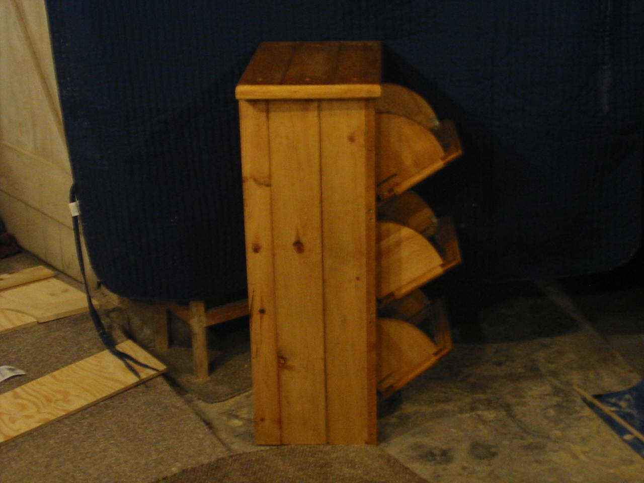Bench Table Chair Learn Woodworking plans for potato bin